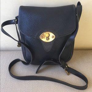 Dooney & Bourke Black Leather purse vintage nice